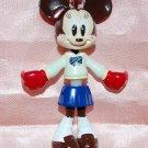 "Yujin Disney Mickey Mouse Minnie ""Minnie Up"" Key Chain Mascot Gashapon Capsule Toy 2.75""H #3"