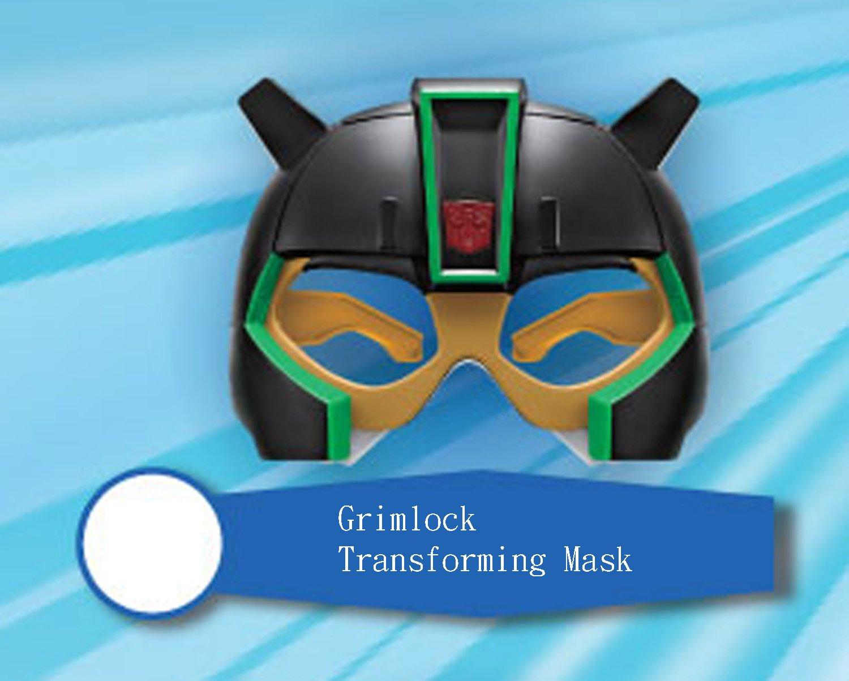 2016 McDonald's Hasbro Transformers Robots in Disguise - Grimlock Transforming Mask