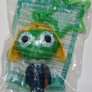 2007 McDonald's Happy Meal Toy Keroro Gunso Keroro in Suit Figure Star Shape Key Ring