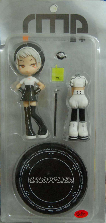 "Pinky St Street rmp 003 Range Murata Caine Girl Doll PVC Figure w/ base & accessories 4""H"