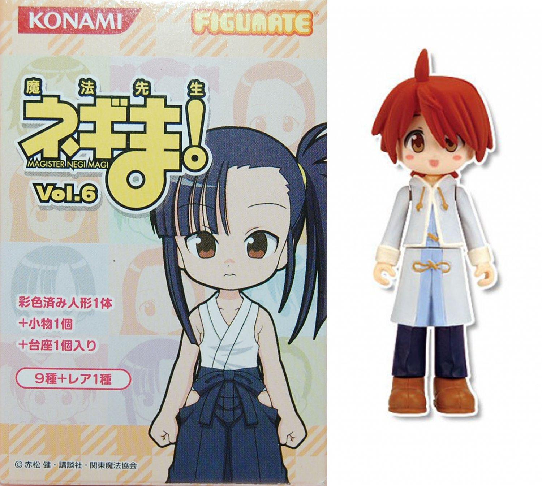 Konami Figumate Negima School Vol 6 Mini Figure - Springfield