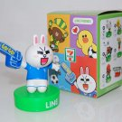 7-11 Line Friends No.2 Cony Figure Stamper - Smart Clever