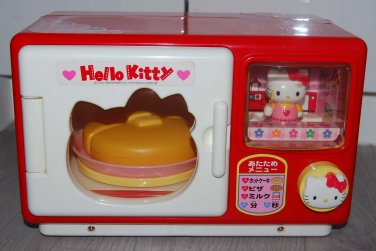 USED 1998 Sanrio Hello Kitty Plastic Oven Toy w/ scratches
