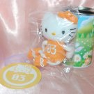 2006 Sanrio 7-11 Hello Kitty Plush Charm Strap Mascot w/ Metal Tin Can 3 November Daisy