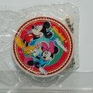 Yujin Disney Gashapon Capsule Toy Mickey Mouse Minnie Round Shape Mirror Key Chain