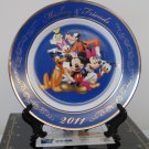 Sega Disney Mickey Mouse & Friends Ceramic Porcelain Display Plate w/ Stand #01