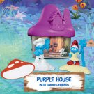 2017 McDonald's Smurfs The Lost Village - PURPLE House with Smurfs Friends