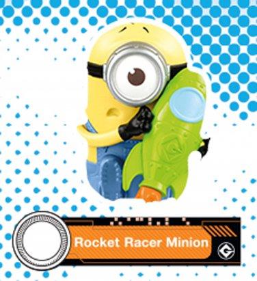 2017 McDonald's Illumination Despicable ME 3 - Rocket Racer Minion