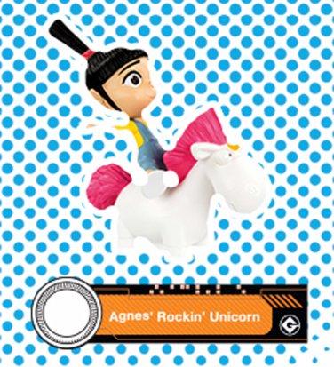 2017 McDonald's Illumination Despicable ME 3 - Agnes' Rockin' Unicorn