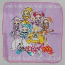 "Magical DoReMi PURPLE Handkerchief Towel 8"" x 8"" /  20 x 20 cm"