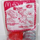 "2007 McDonald's Sanrio Happy Meal Toy - Red Racing Turbo Car "" EAGLE"""