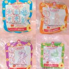 2006 McDonald's Happy Meal Toy Dragon Ball Z - Vegita, Goku, Gohan, Piccolo
