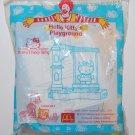 2001 McDonald's Sanrio Happy Meal Toy Hello Kitty's Playground - Mimmy's Fancy Swing