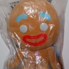 "Disney Dreamworks Shrek Big Head Plush Doll GINGY 9"" H"