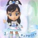 Yujin Pretty Cure White Figure Key Chain Mascot Gashapon Capsule
