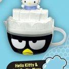 2017 McDonald's Sanrio Happy Meal Toy Hello Kitty & Badtz Maru Plastic Tea Cup