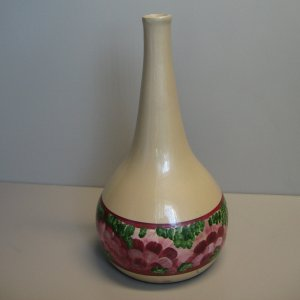 Flower Painted Ceramic Vase 61053