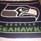 Seattle Seahawks Blanket (Throw Size) - Crocheted