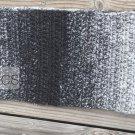 Black & Silver Ombré Scarf