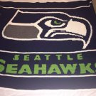 Seattle Seahawks Blanket (Full) - Crocheted