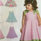 # New Look Sewing Pattern 6688 Toddler Girl Dress Size 1/2-4 New