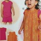 Burda Sewing Pattern 9411 Toddler Girls Shirt Pants Size 6m-3 New