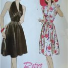Butterick Sewing Pattern 5209 Misses Retro 1947's Dress Size 6-12 New Vintage