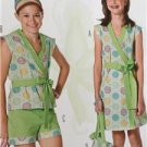 # Burda Sewing Pattern 9445 Girls Childs Tops Dress Shorts Bag Size 7-14J New