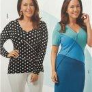 Burda Sewing Pattern 6673 Misses Ladies Dress Shirt Size 18-32 New