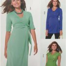 Burda Sewing Pattern 6957 Misses Ladies Wrapped Shirt Dress Size 8-20 New