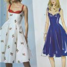 Butterick Sewing Pattern 5882 Ladies Misses Dress Size 4-12 New