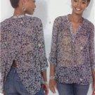McCalls Sewing Pattern 7094 Ladies Misses Tops Size 16-26 L-XXL New