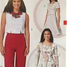 Burda Sewing Pattern 6819 Ladies Misses Blouse Size 8-18 New