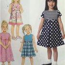 Butterick Sewing Pattern 6314 Girls Dress Size 6-8 New