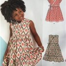 New Look Sewing Pattern 6442 Girls Dress Size 3-8 New