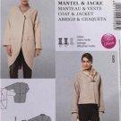 # Burda Sewing Pattern 7028 Ladies Misses Coat Jacket Size 10-22 New