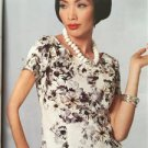 Vogue Vintage Sewing Pattern 9187 Tops Size 6-14 New