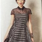 Vogue Sewing Pattern Zamola Rhodes 1484 Misses Dress Size 6-14 New