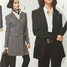 Burda Sewing Pattern 7134 Misses Ladies Pant Suit Size 12-24 New