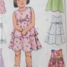 Butterick Sewing Pattern 4434 Girls Childs Dress Size 4-6 New