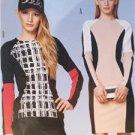 Burda Sewing Pattern 6851 Misses Shirt Dress Size 6-16 New