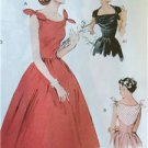 Butterick Sewing Pattern 5708 Ladies Misses Dress Size 14-22 New Vintage 1953's