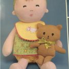 """# Simplicity Sewing Pattern 2809 15"""" Doll Layette Accessories 61/2"""" Cat Bear New"""