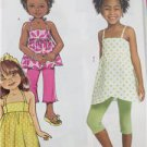 Butterick Sewing Pattern 5020 Girls Childs Top Shorts Dress Pants Size 6-8 New