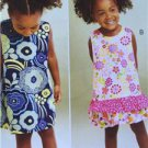 Kwik Sew Sewing Patterns 3864 Childs Toddlers A-Line Dress Size 1-4 New