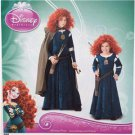 Simplicity Sewing Pattern 1557 Girls Costume Dress Disney Brave Size 3-6 New
