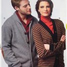 McCalls Sewing Pattern 6803 Misses Ladies Mens Cardigans Size S-L 34-44 New