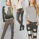 Burda Sewing Pattern 6855 Misses Ladies Pants Size 6-16 New