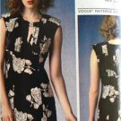 Vogue Sewing Pattern 1371 Misses Ladies Loose Fitting Dress 6-14 Tracy Reese