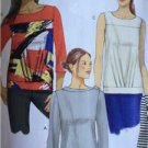 Butterick Sewing Pattern 6132 Ladies Misses Top Size 6-14 New